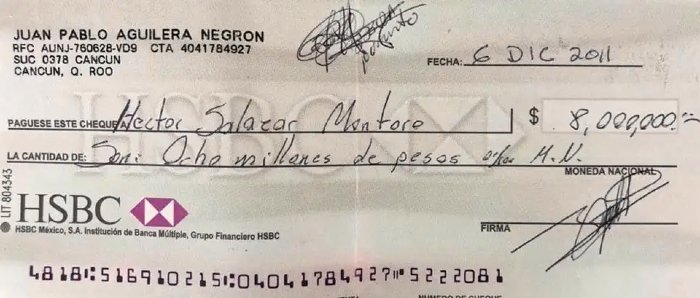 anverso cheque